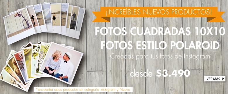 Fotos Cuadradas 10x10