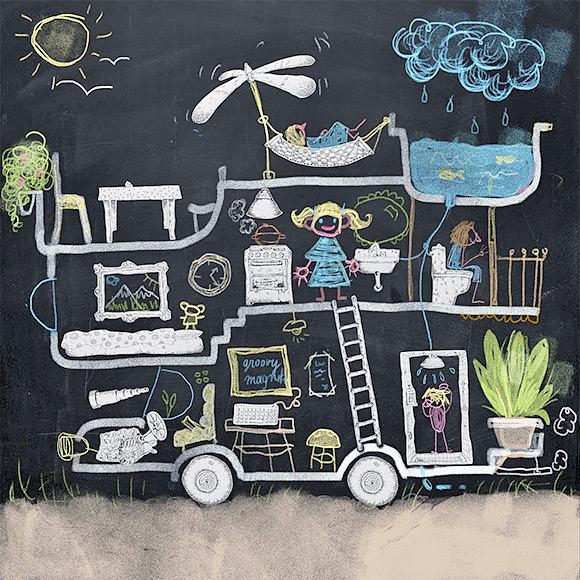 Magnetic-Chalkboard-Wallpaper-2