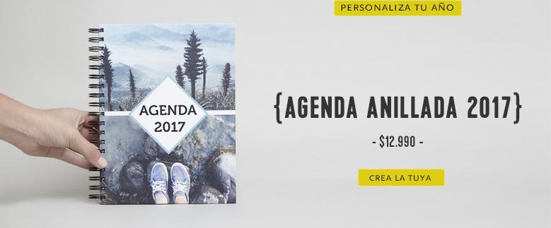 Agenda anillada 2017
