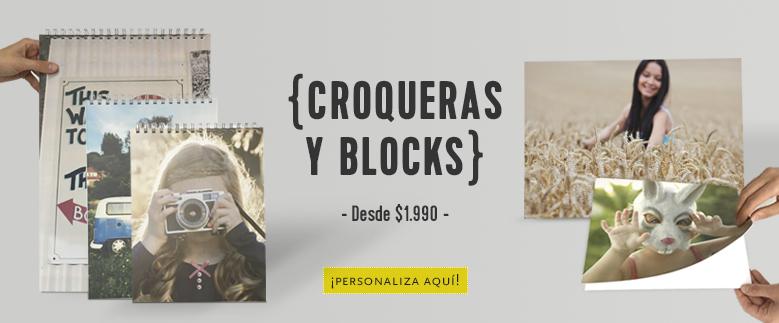 Blocks y Croqueras
